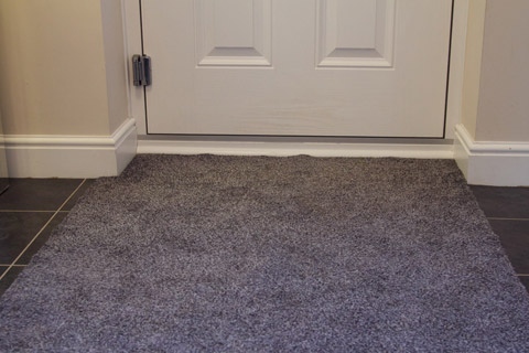 Made to Measure Mat at front door